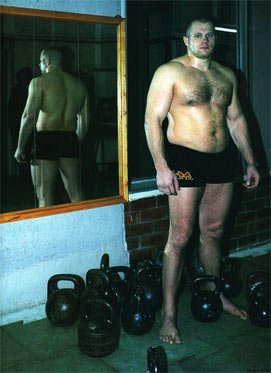 Fedor with Kettlebells
