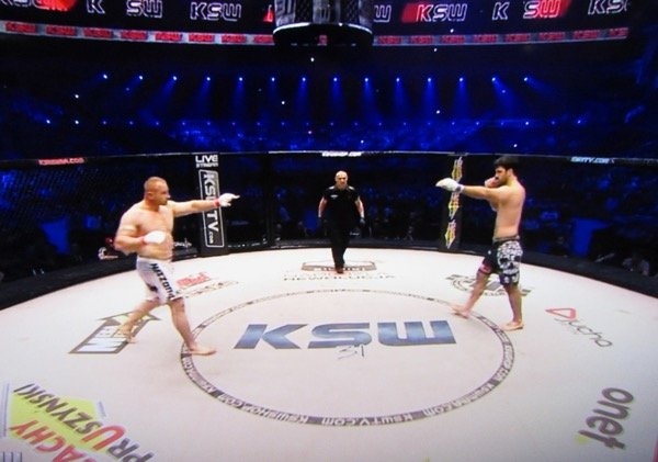Mariusz Pudzianowski vs rolles gracie