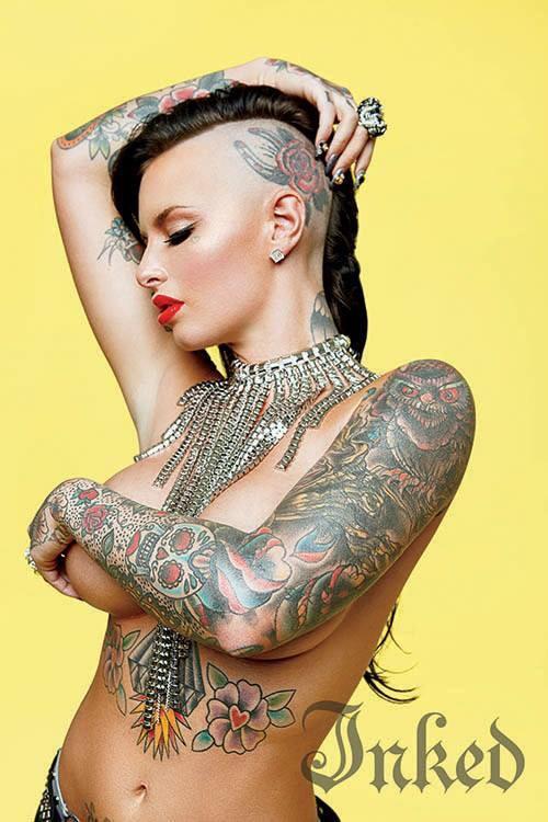 cm head tattoo
