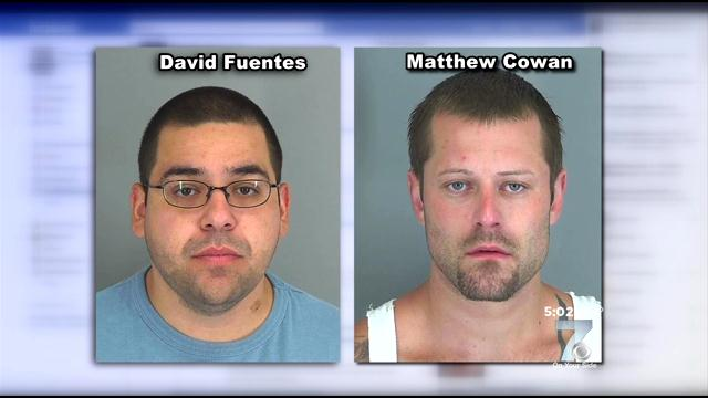 These guys are facing up to 5 years in prison for their threatening text messages.