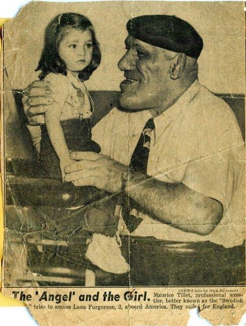 Wrestling legend maurice tillet looked like a caveman inspiration for