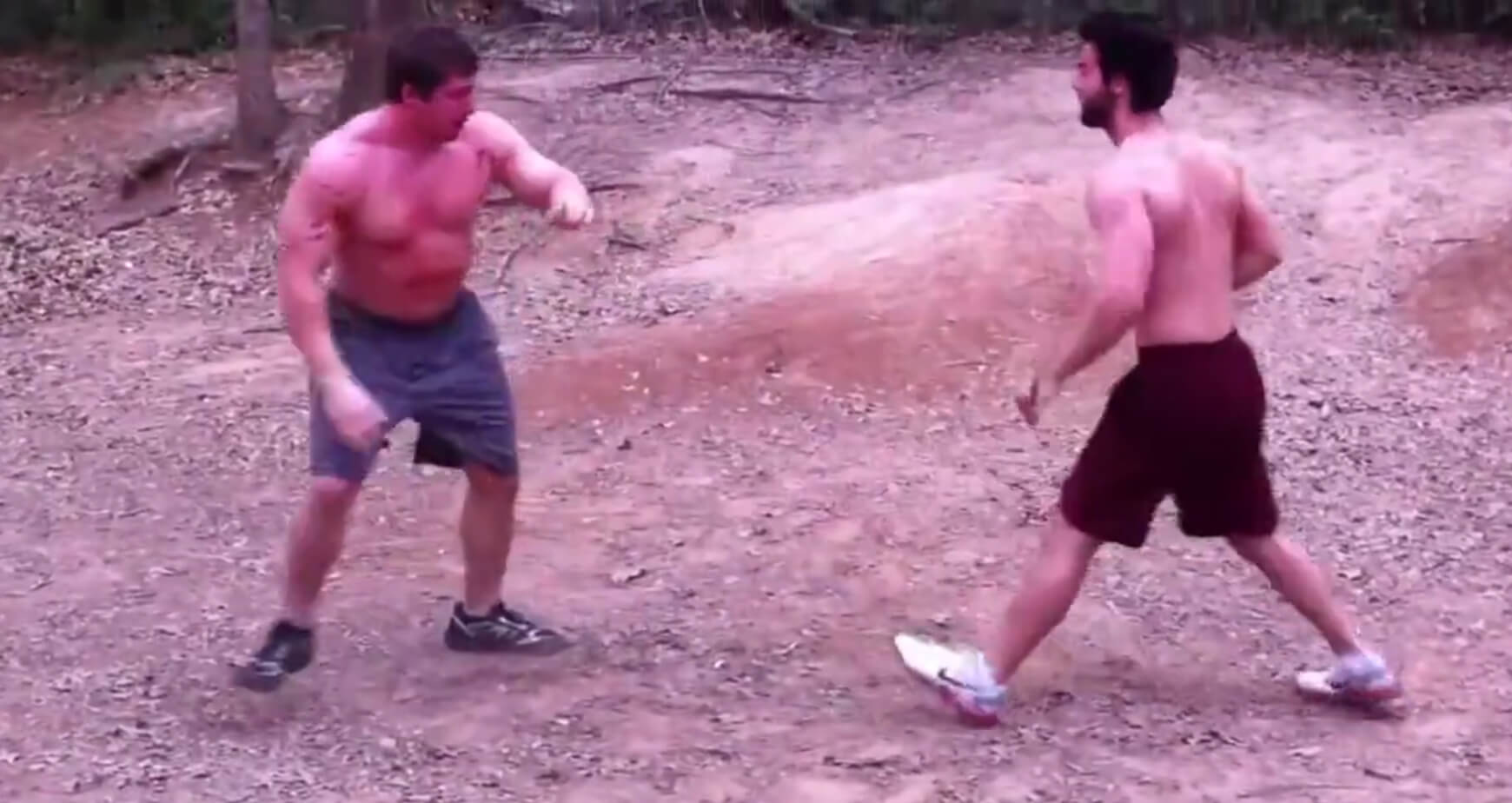 adult starts fight with immediately regrets