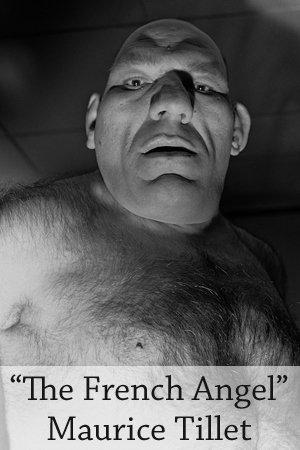 wrestling legend maurice tillet looked like a caveman