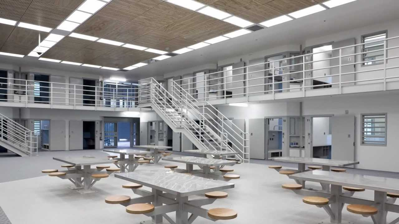 The prison recently underwent a huge remodelling.