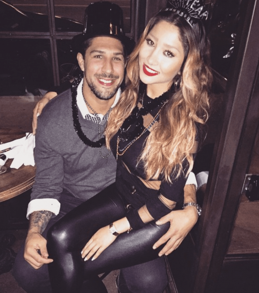 Brendan Schaub with beautiful, Fiancée Joanna Zanella