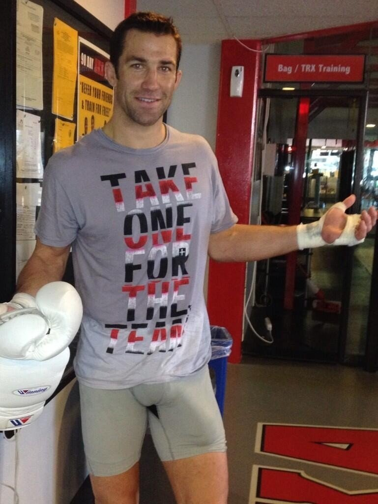 Women love Luke Rockhold.