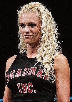 Wrestler Sara Calaway