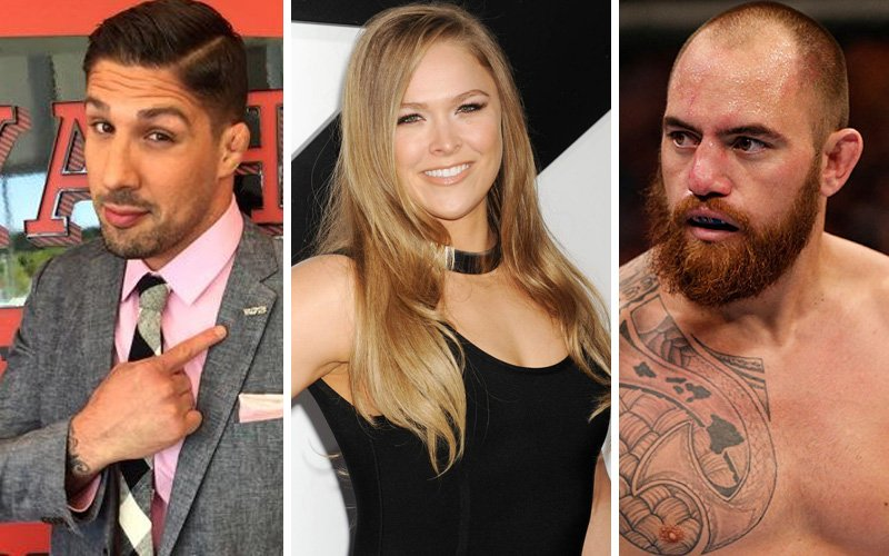 Ronda Rousey managed to keep her love life under wraps for a long time ...