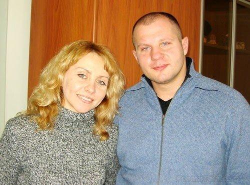 Fedor and Oksana.