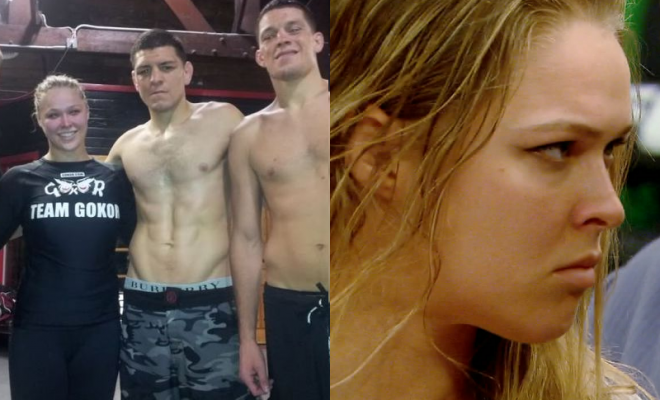 Ronda Rousey Talks About Nick Diaz Suspension and She Is Furious
