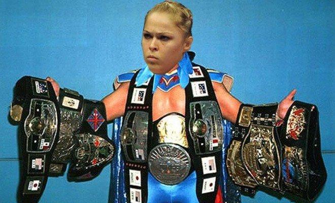 Ronda Rousey is modeling her career after legendary pro wrestler Ultimo Dragon.