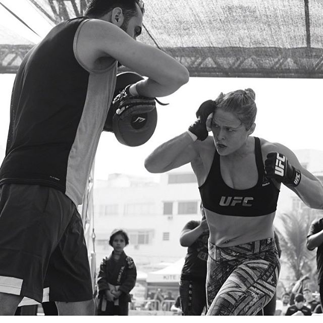 Ronda Rousey is looking to possibly get into the boxing ring. Oscar De La Hoya will oblige that wish. Photo by Glendale Fighting Club.