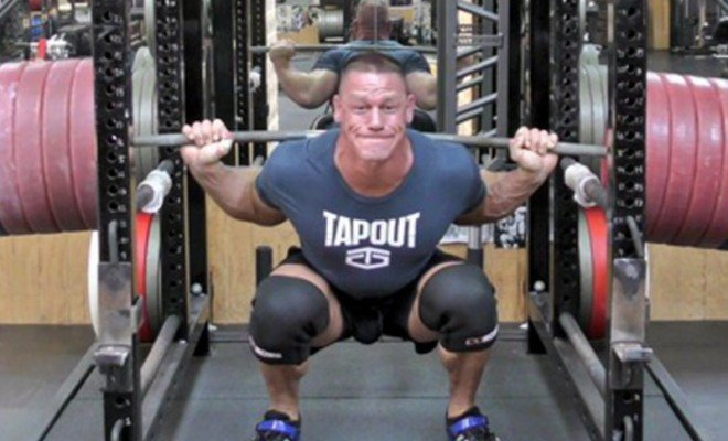 John Cena Just Set a Massive New Squatting Record