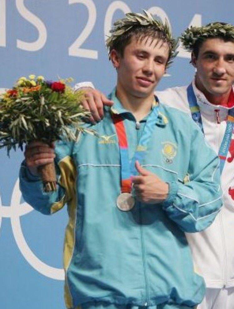 Mr Knockout Gennady 'GGG' Golovkin in 2004