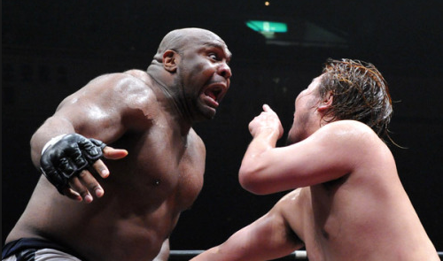 He's even used it on Bob Sapp.