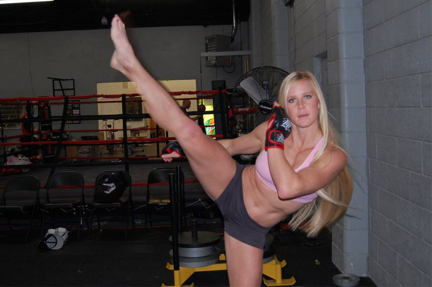 Watch Holly Holm Strutting Around While Showing Off Her Sexy ...