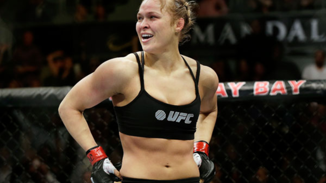 Ronda Rousey gunning for a career in WWE?