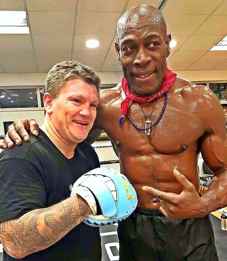 Ricky Hatton has been training Frank Bruno