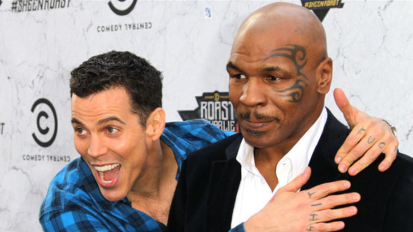 Steve-O and Tyson