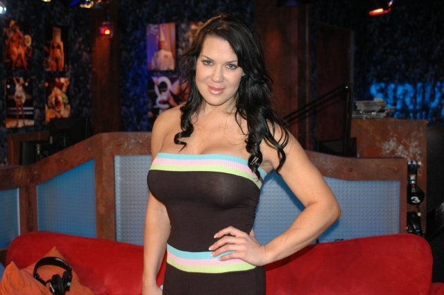 Chyna, real name Joanie Laurer, in 2015,