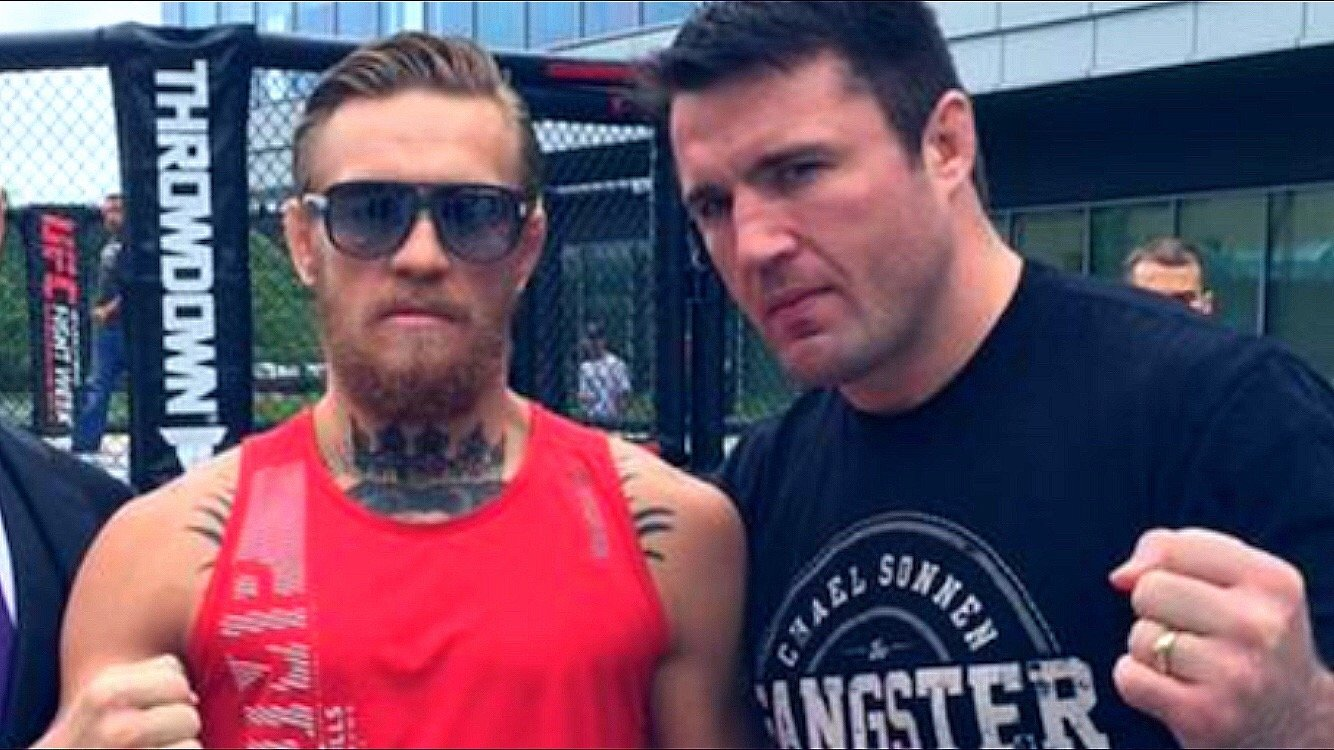 Conor McGregor and Chael Sonnen.