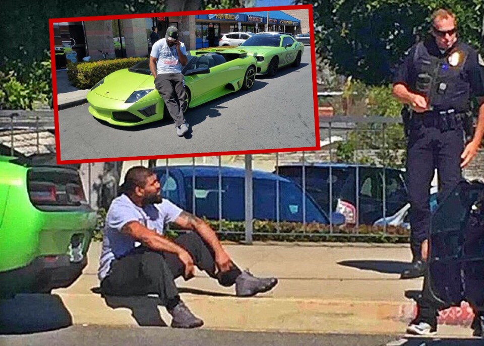 Angry People Getting Pulled Over By Cops : Rampage jackson posts picture to instagram with angry