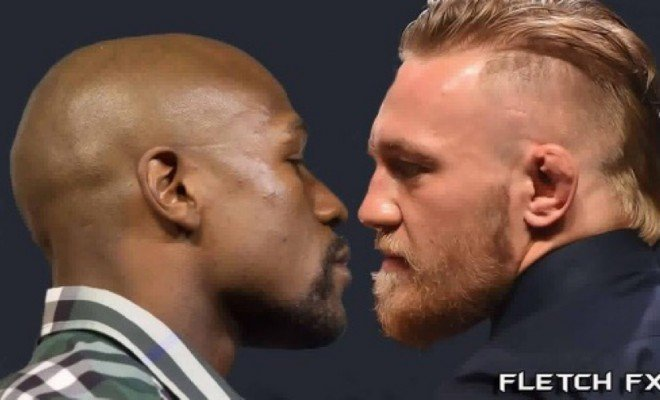 Mayweather and McGregor.