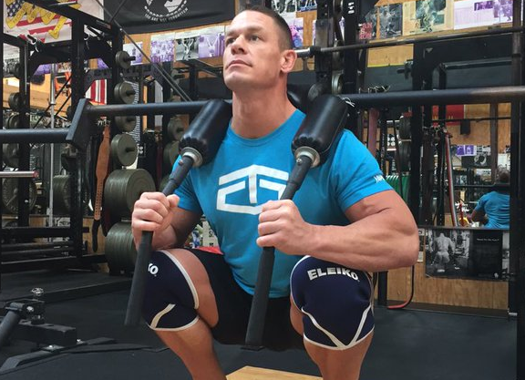 TapouT is actually all about the WWE these days. Photo by John Cena on Twitter @JohnCena.