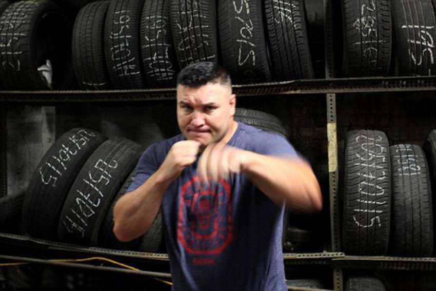 The man that 'is' bare knuckle boxing, Bobby Gunn.