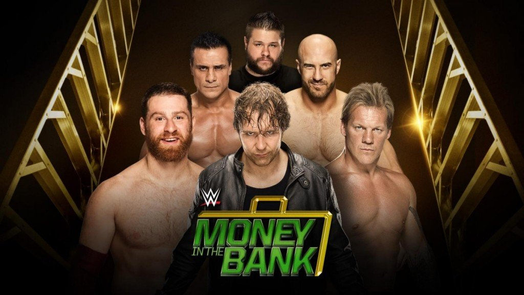"The eponymous ""Money in the Bank Ladder Match"" will likely provide more than a few memorable moments. Photo by WWE.com."