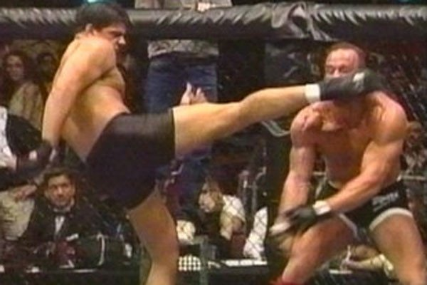 Pete Williams has largely been forgotten, but owns one of the scariest knockouts in UFC history over former heavyweight champ Mark Coleman. Photo by Rolling Armbar.