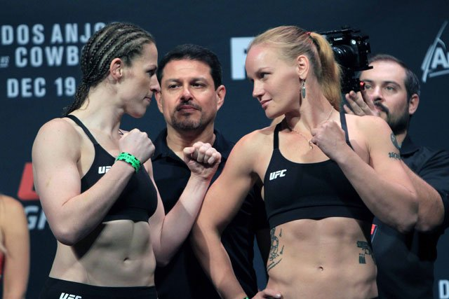 Shevchenko impressed in her UFC debut by beating former Strikeforce champ Sarah Kaufman. Photo by Sherdog.com.