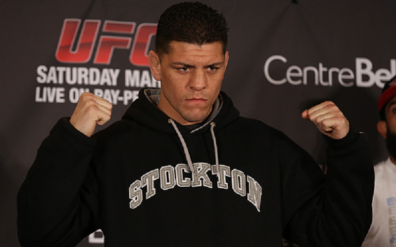 Nick Diaz hasn't been fighting much and hasn't been winning much, but is still one of MMA's biggest names. Photo by Sherdog.