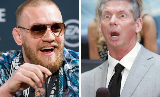 Conor McGregor's smack talk last week angered a whole lot of WWE wrestlers, past and present.