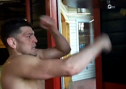 nick-diaz-speed-bag