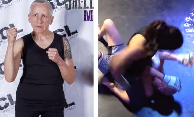 Unfortunately, that time that grandma tried out mixed martial arts didn't go NEARLY as well.
