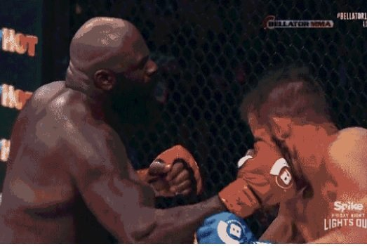 That old dude landed some Kimbo Slice-style uppercuts when the fight started getting out of hand. Screen by us.