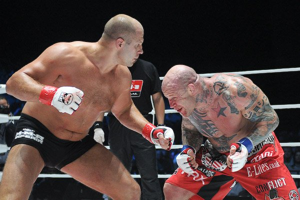 Suffice it to say, Monson has had an impressive combat sports career since debuting back in 1997. Photo by Sherdog.