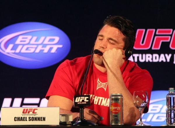 Chael Sonnen is now joining the likes of Ben Hendeson, Josh Thomson and Rory MacDonald in Bellator MMA. Photo by Sherdog.
