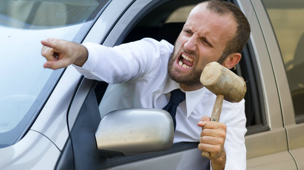 how to get over road rage