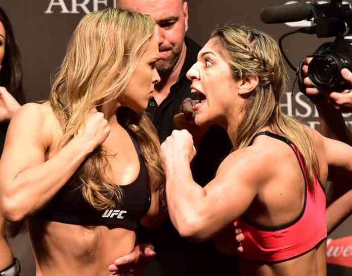 Round Rousey vs. Bethe Correia
